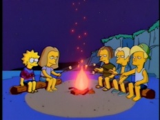 The Simpsons 07x25 : Summer of 4 Ft. 2- Seriesaddict